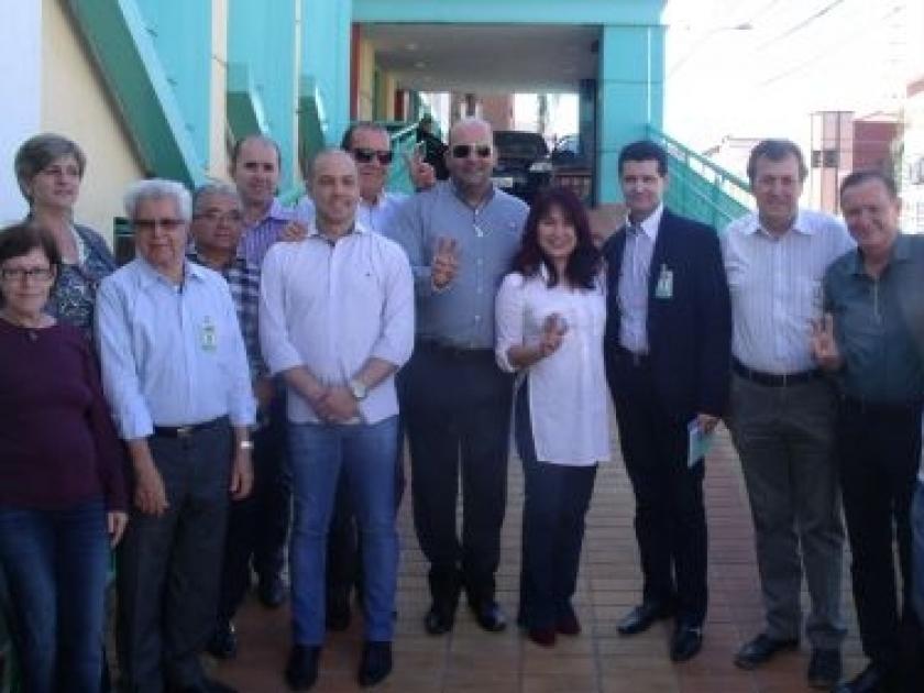 Santa Casa de Sertãozinho recebe a visita da Deputada Federal Keiko Ota