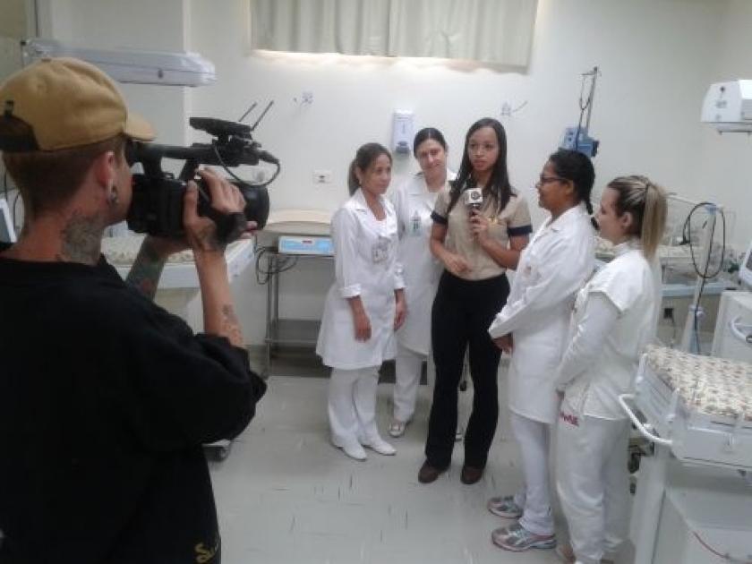 Santa Casa de Sertãozinho na mídia: STZ TV faz reportagem sobre utilização de polvos de crochê na UTI Neo Natal