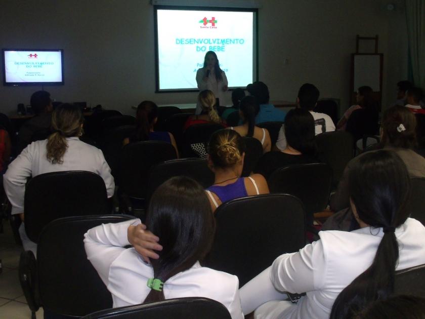 Santa Casa realiza 3º curso de gestante de 2017