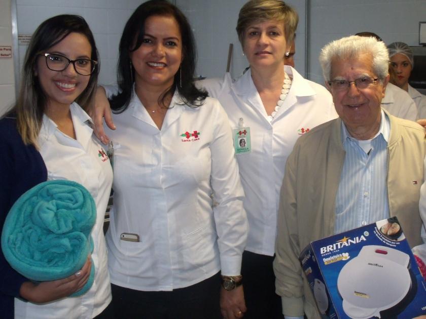 Santa Casa de Sertãozinho oferece confraternização aos aniversariantes do mês de julho