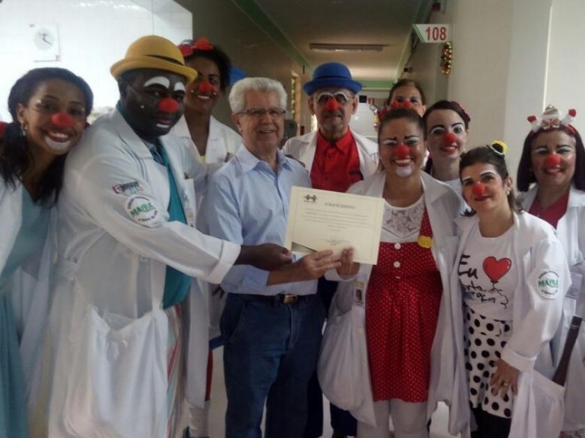 No mês do Natal Santa Casa de Sertãozinho realiza diversas ações para despertar o verdadeiro espírito natalino em pacientes e colaboradores