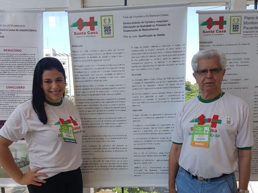 """Santa Casa de Sertãozinho marca presença no 1º Fórum """"Somos SUStentáveis"""" da Fehosp"""