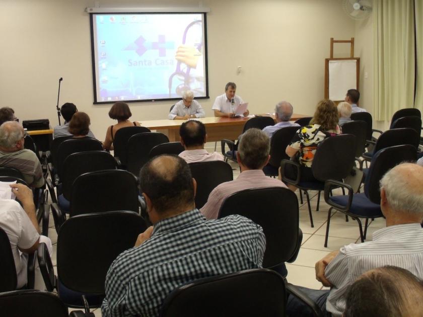 Santa Casa de Sertãozinho realiza Assembleia Geral Ordinária com membros da Diretoria e Irmandade