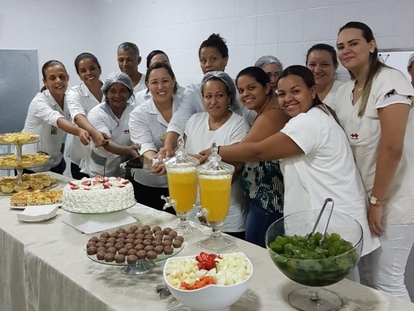 Aniversariantes do mês de março ganham comemoração da Santa Casa de Sertãozinho