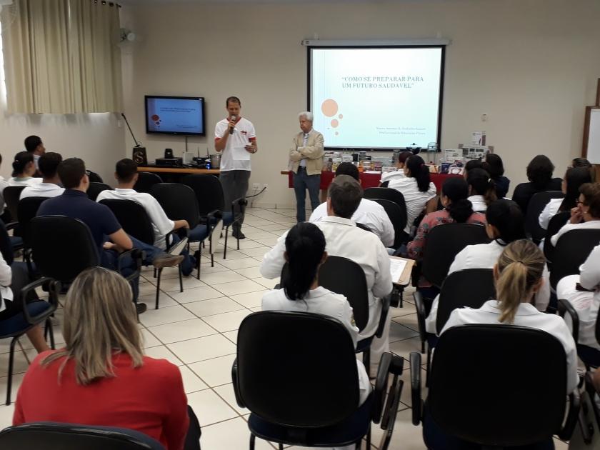 Santa Casa de Sertãozinho realiza SIPAT 2018 e reúne grande número de colaboradores