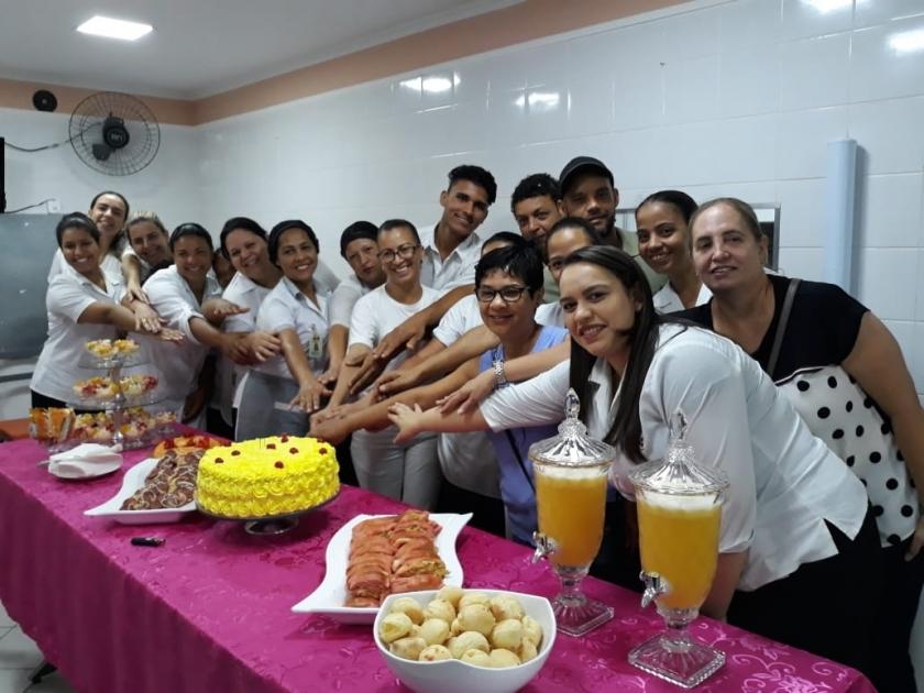 Santa Casa de Sertãozinho proporciona comemoração aos aniversariantes de setembro