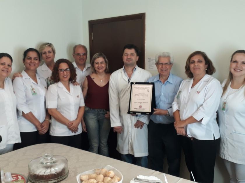 Santa Casa de Sertãozinho recebe homenagem por maior taxa de captação de órgãos e córneas da região