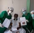 Humanização: Serviço Social e Psicologia da Santa Casa leem cartas de familiares a pacientes com COVID-19 internados há vários dias