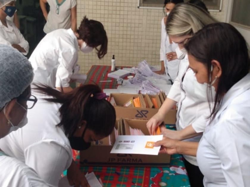 Colaboradores da Santa Casa ganham ticket extra no valor de R$100,00 no cartão alimentação
