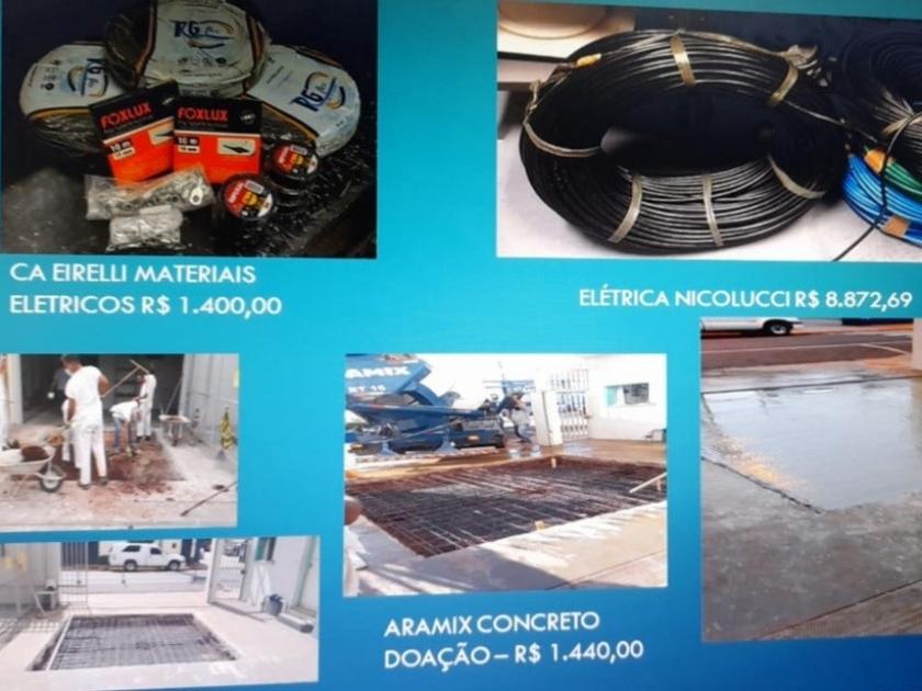 Santa Casa de Sertãozinho recebe apoio e doação de empresas sertanezinas para adequações técnicas na ala onde serão implantados 10 novos leitos de UTI COVID