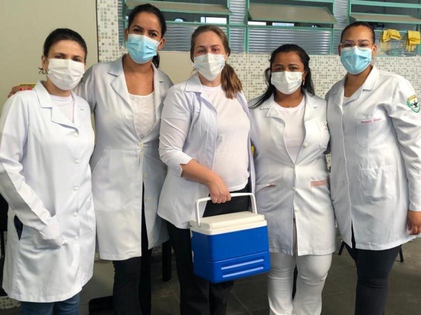 Santa Casa de Sertãozinho inicia vacinação de colaboradores contra gripe H1N1