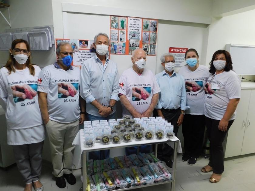 UTI Neonatal da Santa Casa de Sertãozinho completa 25 anos e recebe homenagem
